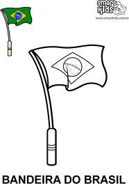 Independência do Brasil, Imagem para colorir, Grito de Dom Pedro I, em 07 de Setembro de 1822. Bandeira3