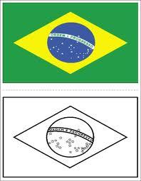 Independência do Brasil, Imagem para colorir, Grito de Dom Pedro I, em 07 de Setembro de 1822. Bandeira2