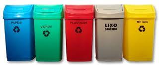 Cestos Receptores para Reciclagem