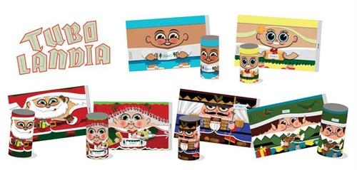 Cartões de Natal Ano Novo do – GRAACC – Combatendo e Vencendo o Câncer Infantil.
