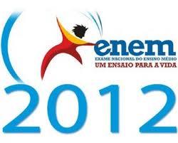 Enem 2012, Resultado - Gabaritos Das Provas Dos Dias 03 E 04 De Novembro. A Divulgação Do Inep Será No Próximo Dia 7 Do Corrente