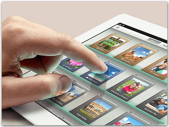 Novo Ipad Tela Retina Com Câmera Isight - Apple. Aparelho. Impacto no visual Brilhante