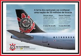 """Pacotes De Viagens Para Ver O Timão """"Vai Corinthians""""  -  CVC AGENCIA DE TURISMO"""