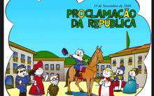 Desenhos Para Colorir, Pintar – Proclamação Da República Do Brasil – 15 De Novembro De 1889