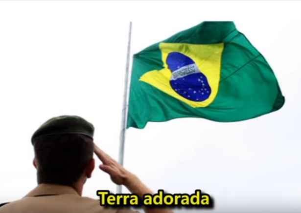Hino À Bandeira Do Brasil – Letra e Vídeo