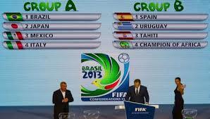 Sorteio da Copa das Confederações de 2013