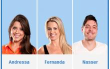 Enquete – Votar Ou Votação no Paredão Do BBB 13 – Big Brother Brasil 2013. Rede Globo De Televisão.