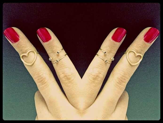 Anéis de Falange – Como Usar