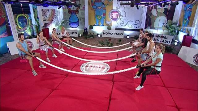 BBB 2013 Big Brother Brasil 13 – Prova de Resistência. Competição Vale A Liderança da Casa E Um Carro Novo Palio.