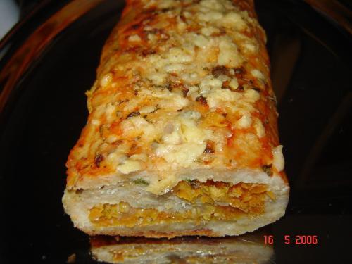 Receita Rocambole de Frango-Prática e Deliciosa.