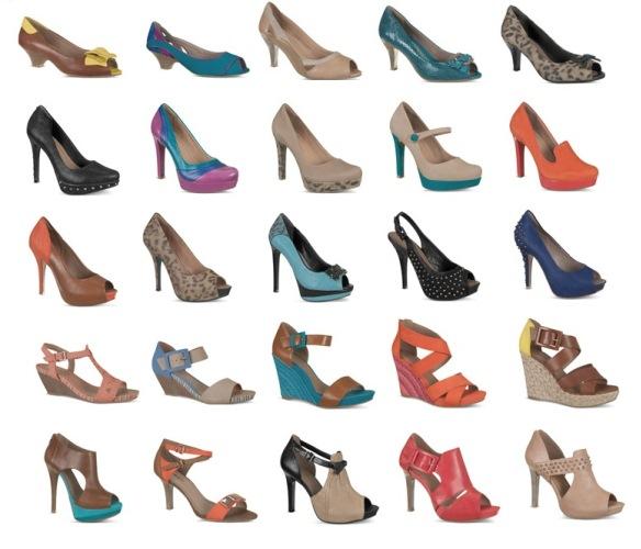 Coleção de Calçados Ramarim 2013