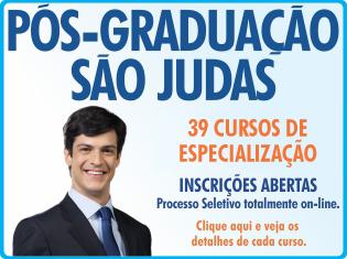 Edital – Processo Seletivo Para Preenchimento De Vagas Remanescentes 2013 – Inscrições Abertas No Período De 12/12/2012 Até 27/03/2013. Universidade São Judas Tadeu.