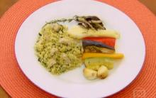 Receita De Cuscuz Marroquino Ao Molho Pesto Com Amêndoas – Programa Estrelas, Apresentado Por Angélica – TV Globo Em 02/03/2013.