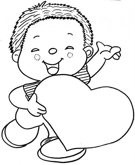 desenho para colorir mãe 6