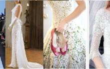 Vestido de Noiva Feito de Artesanato em crochê – Modelos, Fotos, e Dicas.