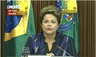 Pronunciamento Da Presidente Dilma Rousseff. Recomenda Pactos E Plebiscito Para Constituinte Da Reforma Política. 24 De Junho De 2013.