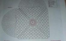 Tapete de Crochê de Coração Florido Romântico – Fotos, Vídeo Passo a Passo
