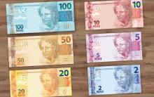 Novas Notas e Cédulas de R$ 2 e R$ 5 – Fotos