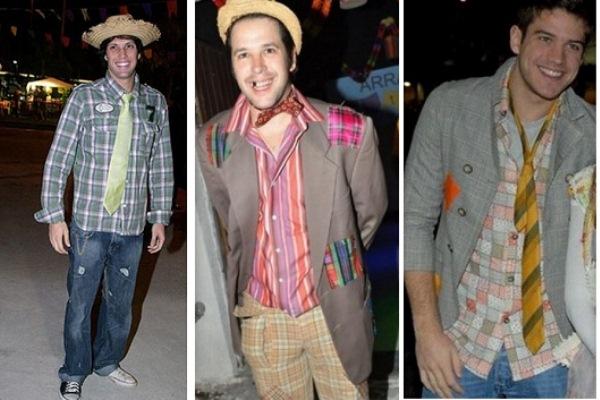 roupas masculina junina