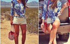 Moda de Estampa Azulejo Nas Roupas – Modelos e Fotos
