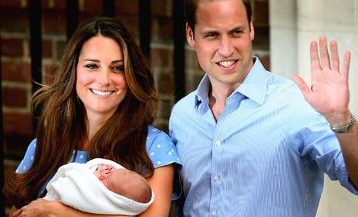 Nome do filho da princesa kate com o príncipe william é escolhido – george alexander louis