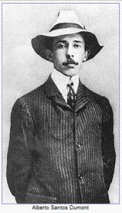 Santos Dumont - o inventor do avião 14 bis