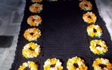 Tapete Girassóis de Crochê – Como Fazer e Vídeo