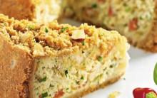 Especial Torta Cremosa de Bacalhau – Receita e Dicas.