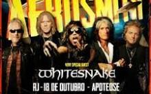 Show Aerosmith e Whitesnake no Brasil 2013 – Local, Ingressos e Preços