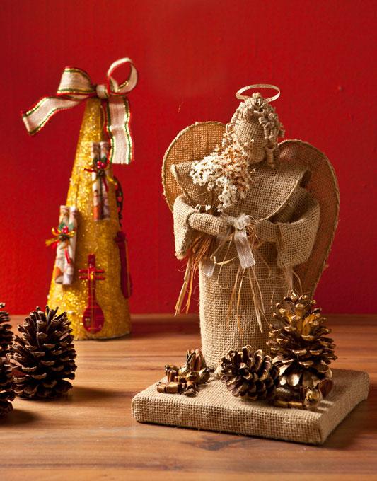 Como Fazer Anjo de Juta Para o Natal – Modelos, Passo a Passo e Vídeo