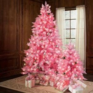 arvore-de-natal-rosa