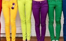 Tendência Calças Coloridas – Fotos, Como Usar e Onde Comprar