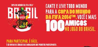 Promoção Coca-Cola Copa do Mundo 2014: Você +100 – Regra de Como Participar