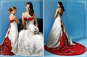 Vestido-noiva-colorido-vermelho