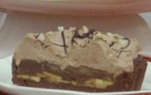 Torta de Banana com Chocolate e Chantilly – Receita Ana Maria Braga em 26/09/2013