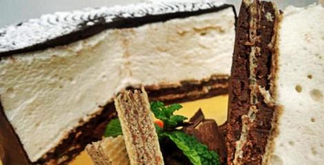 Torta de Marshmallow e Wafer Ana Maria Braga em 12/09/2013 – Receita
