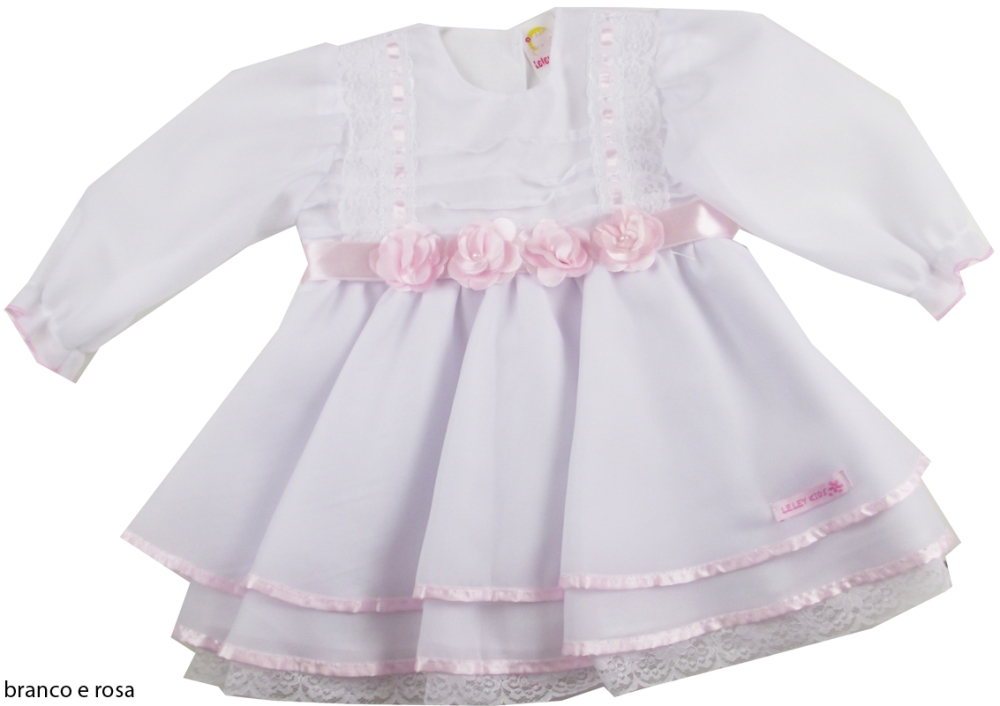vestido-batizado-flores-rosa