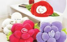 Almofada Flor Em Tecido – Materiais e Passo a Passo