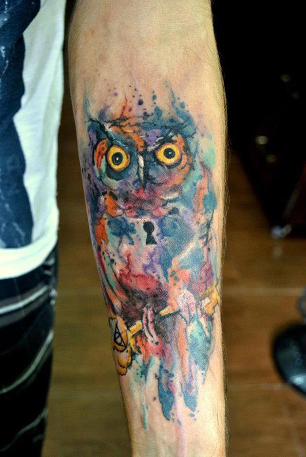 aquarela-coruja-tatoo