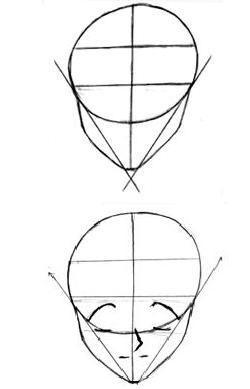 como-desenhar-manga-face