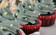 Como Fazer Cupcake Natalino – Receita