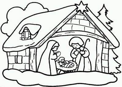 desenhos-de-natal-para-colorir-presepio