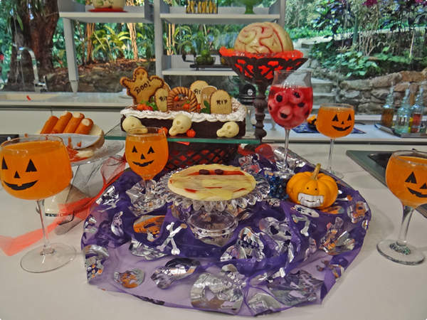 Quitutes de Halloween da Ana Maria Braga – Programa Mais Você 31/10/2013 – Receitas