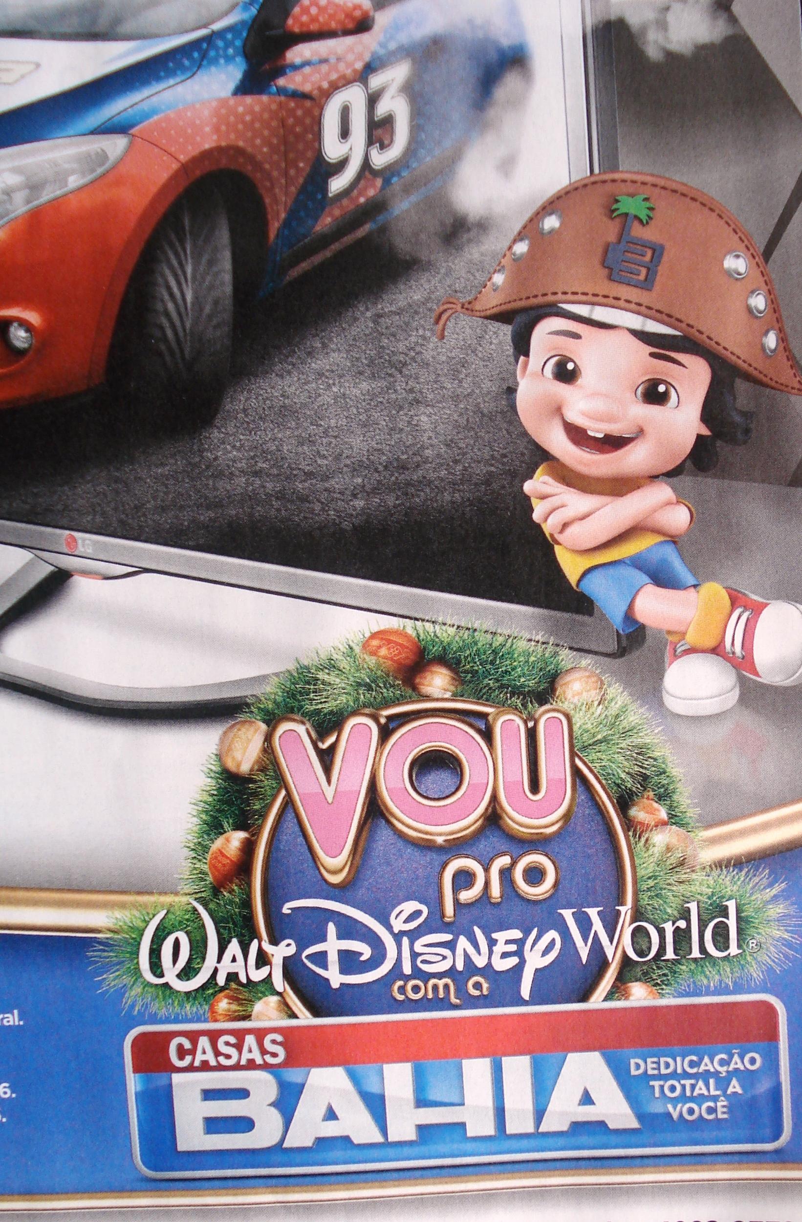 Promoção de Natal: Vou Para o Disney World com as Casas Bahia – Como Participar e Prêmios