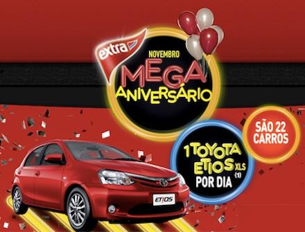 Promoção Mega no Extra – Mês de Aniversário – Prêmios e Como Participar
