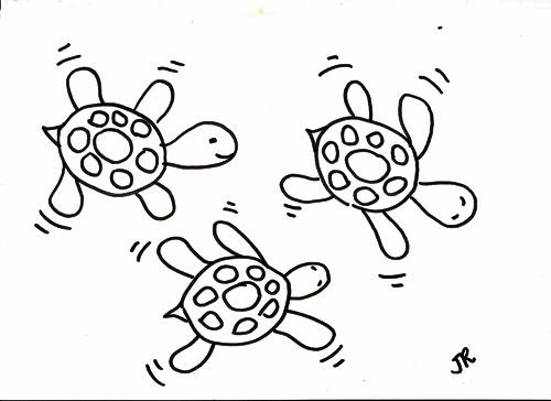 tartarugas-tecido