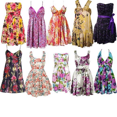 vestidos-curtos-com-estampa-floral