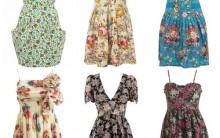 Moda Vestidos Estampa Floral Para o Verão – Fotos, Dicas e Onde Comprar