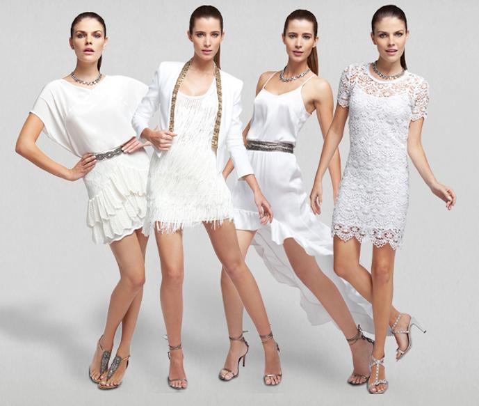 Modelos Vestidos Brancos com Pedraria – Dicas, Fotos e Onde Comprar