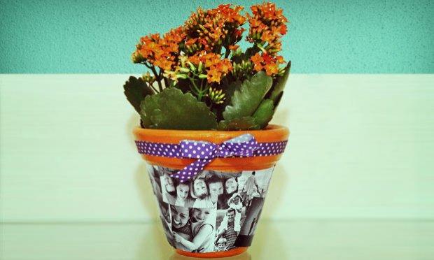 Como Decorar Vasos com Fotos de Família – Dicas e Passo a Passo